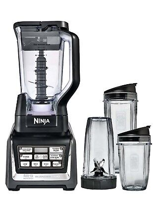 Nutri Ninja 2HP Blender Duo with Auto-iQ | BL642 (Certified Refurbished)