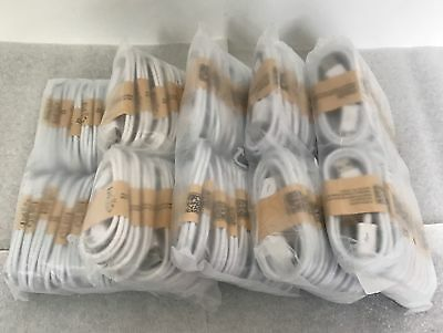 100 x USB to Micro USB Charger Sync Cable 4 Samsung Galaxy S S2 S3 S4 white
