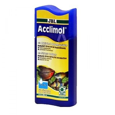 JBL Acclimol 100ml (acclimatise fish reduce stress transport prevent diseases)