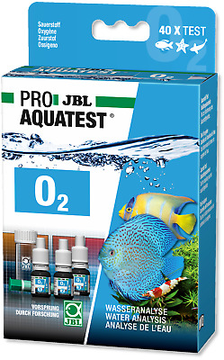 JBL Test Kit O2 Oxygen (aquarium fish tank tropical marine planted fresh water)