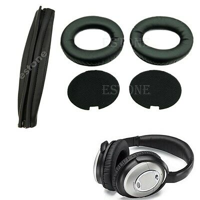 Replacement Ear Pads Headband Cushion for QuietComfort QC15 QC2 Headphones
