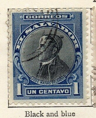 El Salvador 1912 Early Issue Fine Used 1c. 143386