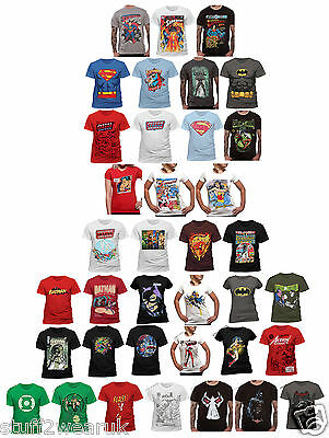 OFFICIAL DC Comics Character T Shirt Batman Superman Wonder Woman Justice League
