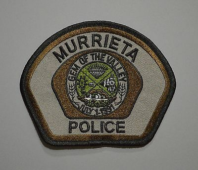 Murrieta California Police SWAT Patch ++ HTF Mint CA