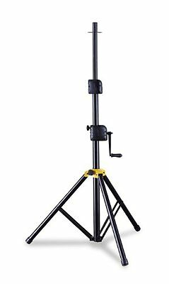 Hercules SS700B Wind Up Gear Up Adjustable Speaker Stand with Base