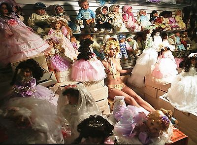 David LaChapelle Limited Ed. Photo Print 56x41 Nicoline Toft, D&G, Dolls Puppen