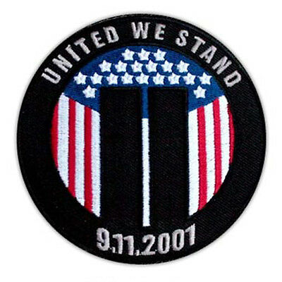 United We Stand Patriot Commemorative New York 9-11 September Wtc Towers Patch