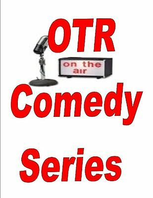 Old Time Radio Comedy Shows Vol.6 Mp3 Dvd 630+ Shows
