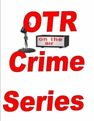Old Time Radio Crime Shows Vol.4 Mp3 Dvd 1,000+ Shows