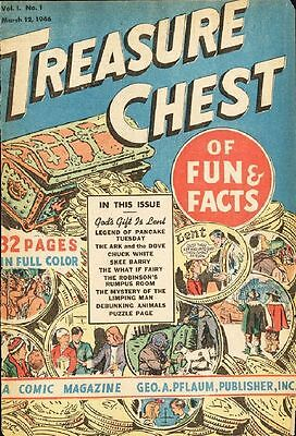 Treasure Chest Comics Collection 340 Issues On Dvd-Rom