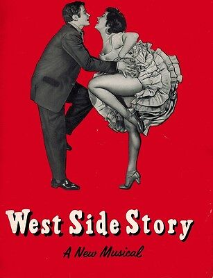 West Side Story Broadway Souvenir Program - Carol Lawrence