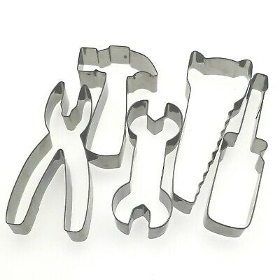Maintain tools special baking stainless steel metal cookie cutter mold 5pcs/set