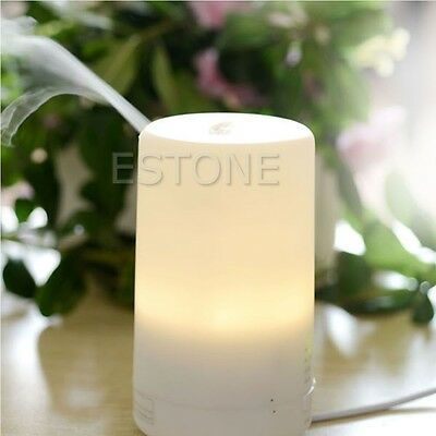Air Humidifier Essential LED USB Oil Ultrasonic Aromatherapy Aroma Diffuser New