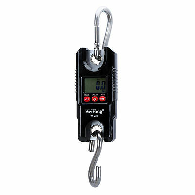 Portable Crane Scale 300kg 0.1kg Heavy Duty Electronic Hook Hanging Scale
