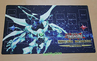 D399 Free Mat Bag Custom Made YUGIOH Shooting Quasar Dragon Playmat Card Mat