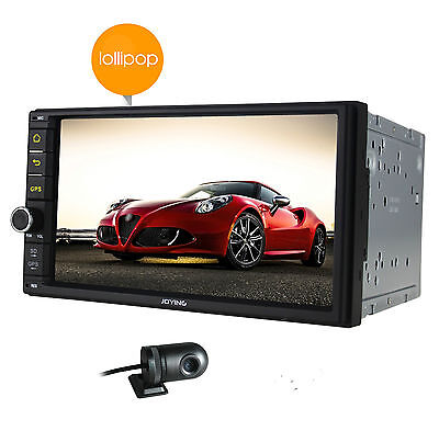 Quad-Core Double 2 DIN HD Android 5.1 System Car Stereo GPS USB DAB+ OBD BT 3/4G