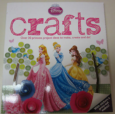 Disney Princess Crafts-over 39 project ideas in this book-stickers-Pressouts