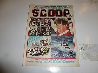 SCOOP Comic - No 113 - Date 15/03/1980 - UK Paper Comic - Inc Pull-Out