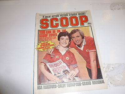SCOOP Comic - No 115 - Date 29/03/1980 - UK Paper Comic - Inc Pull-Out