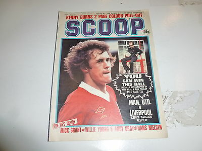 SCOOP Comic - No 116 - Date 05/04/1980 - UK Paper Comic - Inc Pull-Out