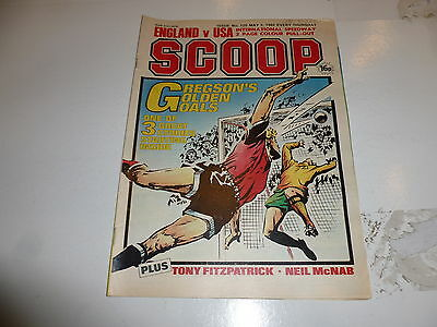SCOOP Comic - No 120 - Date 03/05/1980 - UK Paper Comic - Inc Pull-Out