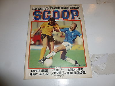 SCOOP Comic - No 160 - Date 07/02/1981 - UK Paper Comic - Inc Pull-Out