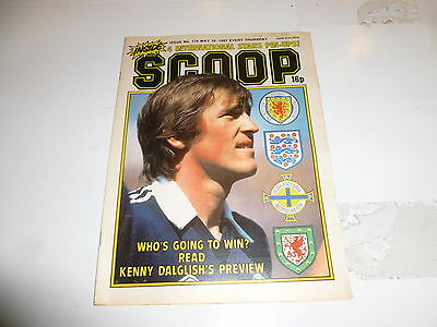 SCOOP Comic - No 174 - Date 16/05/1981 - UK Paper Comic - Inc Pull-Out