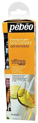 Pebeo Vitrea 160 Stained Glass Paint Discovery Set - 6 x 20 ml