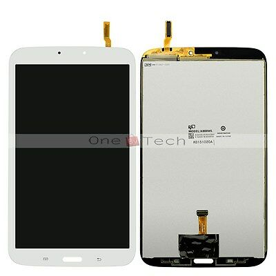 White Touch Digitizer LCD Assembly Screen For Samsung Galaxy Tab 3 8.0 WiFi T310