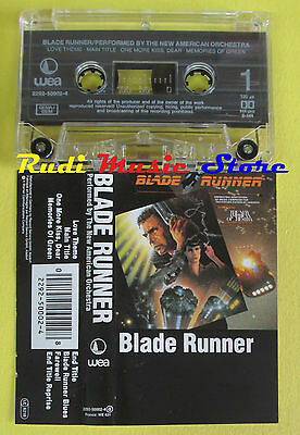 MC THE NEW AMERICAN ORCHESTRA Blade runner OST 1985 germany WEA no cd lp dvd vhs