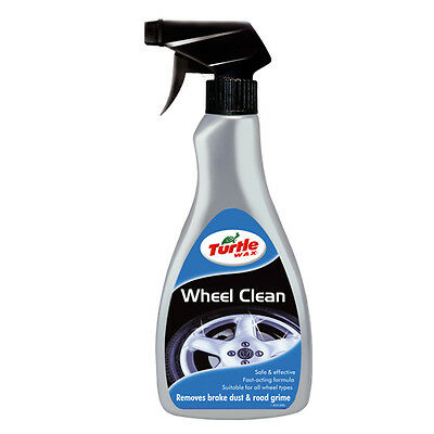 Turtle Wax Alloy Wheel Cleaner Trigger Spray 500ml Removes Dust Oil Tar Grime