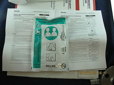 5 Pack Philips Pediatric Plus Heartstart Pads M3717A 2014-06 Multifunction Elect