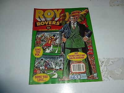 ROY OF THE ROVERS Comic - Year 1993 - Date 16/01/1993 - UK Paper Comic