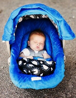 The Whole Caboodle Carseat Canopy Baby Car Seat Cover 5 Pc Set New ~ Maddox ~