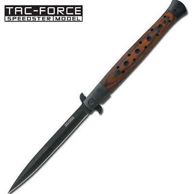 "13""  EXTRA LARGE Stiletto TAC FORCE Spring Assisted Open Folding knife"