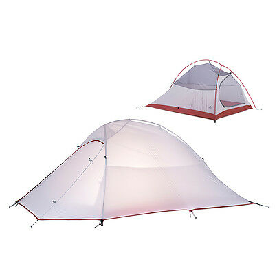 NATUREHIKE 2 PERSON Outdoor Ultralight Camping Double Layer