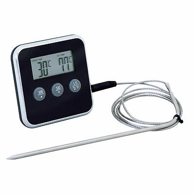Eddingtons Professional Meat Thermometer w/ Remote Probe Sensor & Kitchen Timer