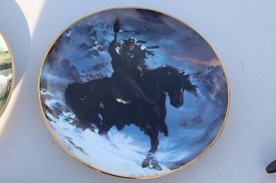 Franklin Mint Horse Collector Plate - Spirit of the West Wind