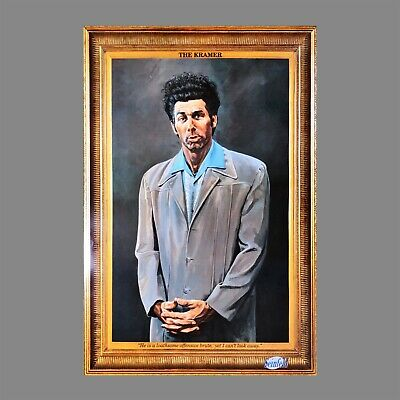 (Laminated) The Kramer Poster Self Portrait (61X91Cm) Seinfeld Picture Print New