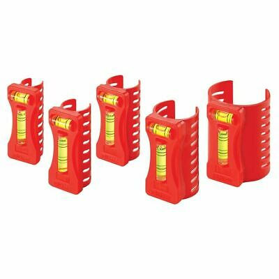 Sands Level 5 Piece Plumbers Pipe Level Set