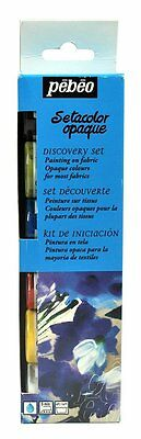 Pebeo Setacolor Fabric Paint Discovery Set - 6 x 20ml ( Opaque )