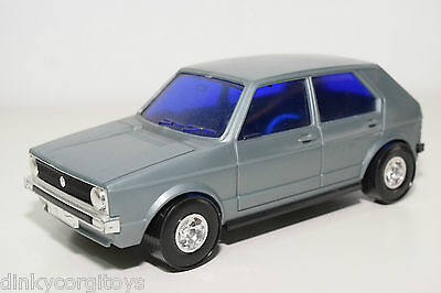 Lucky 3169 Vw Volkswagen Golf Mk1 Grey Plastic Near Mint Condition