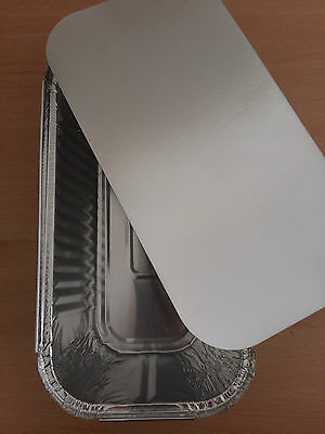 Aluminium Foil Loaf Tin Pan Tray Dish With Lid Bake Oven Cook Bread Great Value!