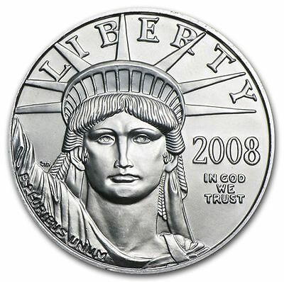 2008 1/10 oz Platinum American Eagle - Brilliant Uncirculated