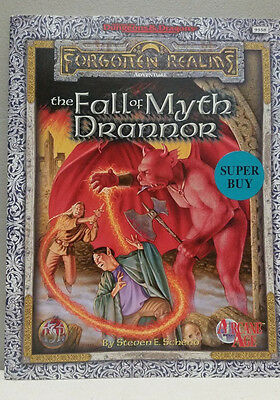 TSR Advanced Dungeons & Dragons: Forgotten Realms The Fall of Myth Drannor