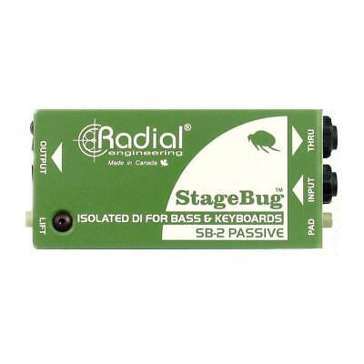 Radial StageBug™ SB-2 Transformer Isolated Passive Direct Box
