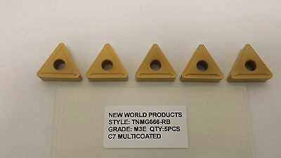 CNMG 432 PG M400 C7 CVD Al2O3 Coat Carbide Inserts 10pcs New World Products