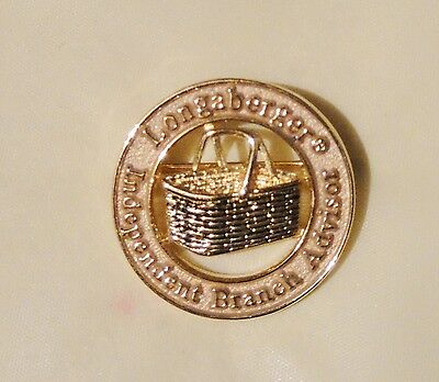 Longaberger Basket Independent Branch Advisor Consultant Brooch Pin