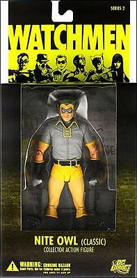 Watchmen Movie Series 2 Classic Nite Owl 7in Action Figure DC Direct Toys