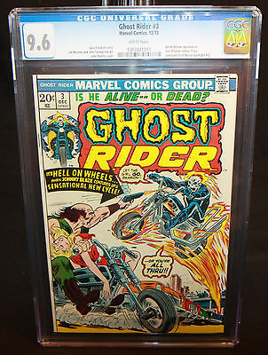 Ghost Rider #3 - Witch-Woman & Son of Satan Cameo - CGC Grade 9.6 - 1973